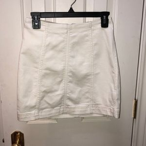 free people white pencil skirt